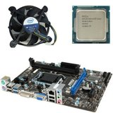 Kit placa de baza second hand MSI H81M-P33, Pentium G3420, Cooler